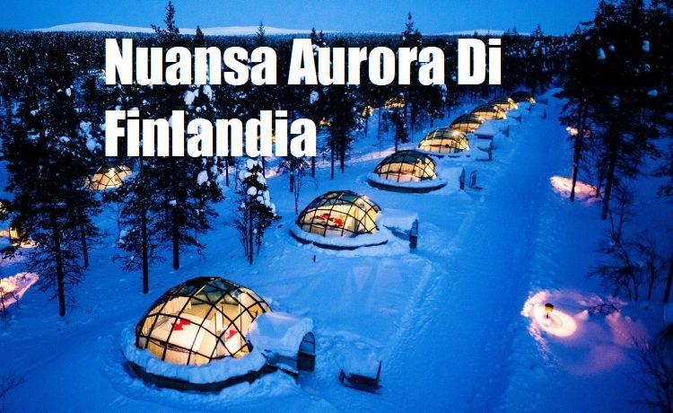 Nuansa Aurora Di Finlandia